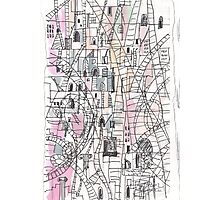 COMPLICATED CITY(C2012) Photographic Print