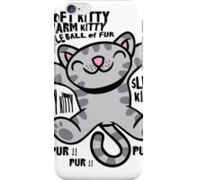Soft Kitty, The Big Bang Theory Funny new  iPhone Case/Skin