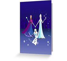 Origami - Do you want to build a snowman Greeting Card