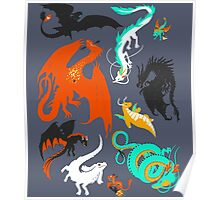 A Flight with Dragons Poster