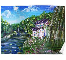 The Cottage By The River Poster