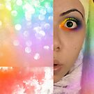 Oops, I think I stole the rainbow..  by Mena Assaily