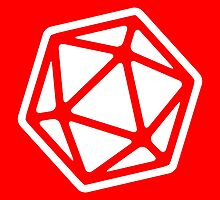 D&D 20 Side Die by EleventyHundred