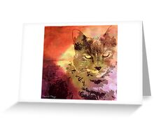 CATTERINA Greeting Card