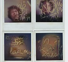 Burned polaroids by Pascale Baud