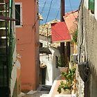 Corfu Side Streets by elspeth2000