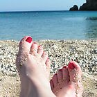 Sandy Feet by elspeth2000