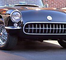 Black Classic Corvette by 123shop