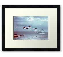 So Low - The Red Arrows, Broadstairs Kent -  1979 Framed Print