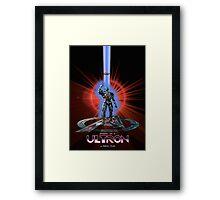 Avengers: Age of TRON Framed Print