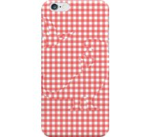 Dinosaurs Hiding In Gingham iPhone Case/Skin