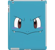 Squirtle face iPad Case/Skin