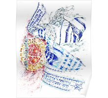 Colorful Breastplate Poster