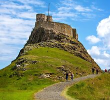 Lindisfarne Castle 2 by lazyjane1977