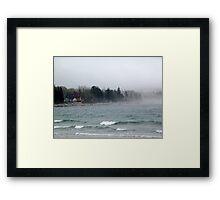 Summerville Beach Framed Print