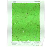 Maine USGS Historical Map Speckled Mountain 807188 1970 24000 Poster
