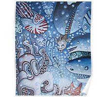 Swimming In Veiw  Poster