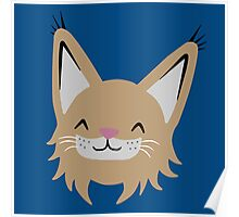 Cute Lynx Poster
