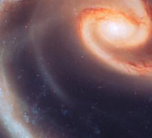 Spiral Galaxy   The Universe by Sir Douglas Fresh Sticker