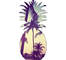 Pineapple/Palm Trees by bjtaylor99