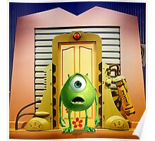 Monster Inc Mike Wazowski Poster