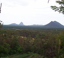 Glasshouse Mountains by Jess Jones