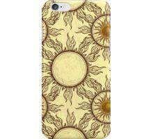 Sol the Sun Design iPhone Case/Skin