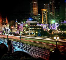 Princess Bridge, Melbourne by Darren Greenwell