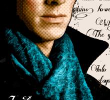 Benedict Cumberbatch, Sherlock Holmes - I Am Sherlocked Sticker