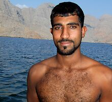 Dhow Captain, Oman by John Douglas
