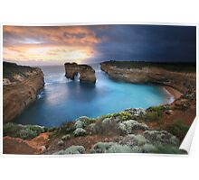Island Arch, Great Ocean Road, Australia Poster