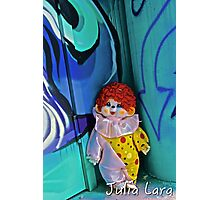 Back Alley Clown Photographic Print