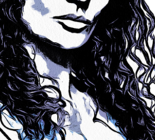 BEA SMITH IS THE NEW BLACK Sticker