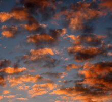 sky on fire by Nataliya Khan