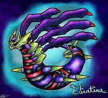 Giratina - Pokemon Platinum Legendary by Sulupy