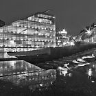 Rainy night in Manchester by Stephen Knowles