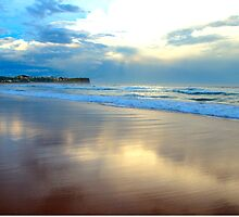 Night Fall - Warriewood Beach - The HDR Series by Philip Johnson