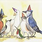 Happy Birthday Flock! by Elisabeth Wyrwicz