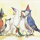 Happy Birthday Flock! by Elisabeth Wyrwicz