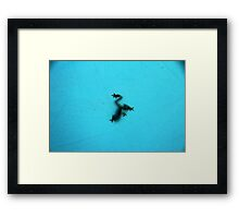 Morning Silhouette Framed Print