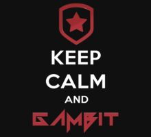 Keep Calm and Gambit (T-SHIRTS AND HOODIES) Kids Clothes