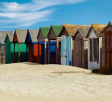 Beach Huts Series 3 by Amanda White