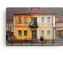 House with split personality Metal Print