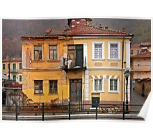 House with split personality Poster