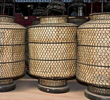 Chinese lamps by dominiquelandau
