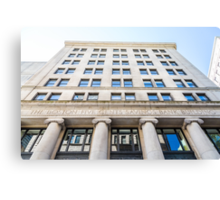 Old Boston Bank Building Canvas Print