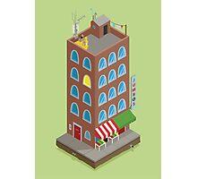 Jumbo's Building Photographic Print