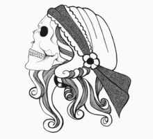 Gypsy Skull by Meagan Kenny