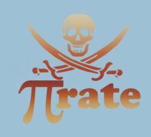 Pi rate Funny Pirate Kids Clothes