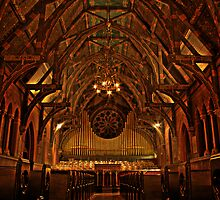 Sage Chapel, Cornell University by Sam McGuire